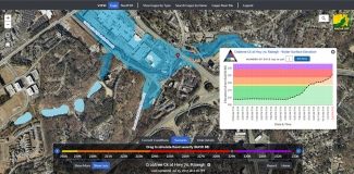 Flood Inundation Mapping and Alert Network (FIMAN)