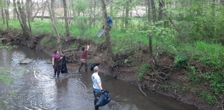 ESP Volunteers Adopt-A-Stream