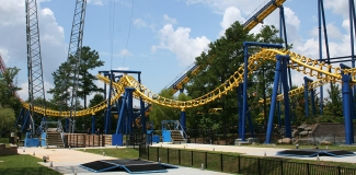 Carowinds Roller Coaster