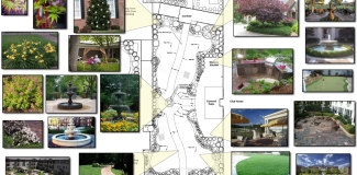 Wellmore Tega Cay Landscape Architecture Plans