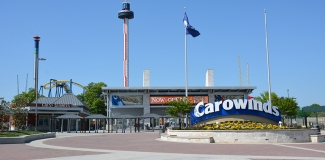 Carowinds Entrance